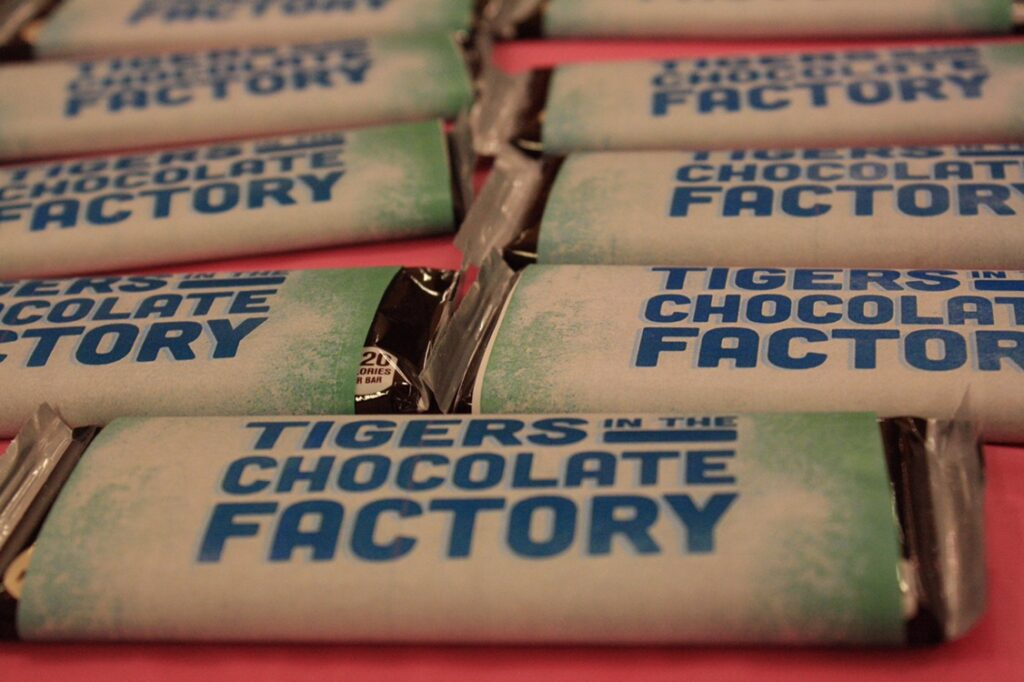 Tigers in the Chocolate Factory Photos