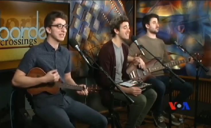The brothers perform on VOA.