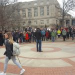 Coalition of Graduate Workers Holds Rally in Support of International Students