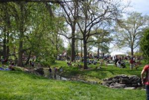 Columbia residents celebrate Earth Day in Peace Park