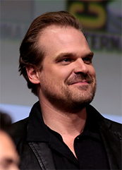 David Harbour pictured