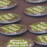 Relationship and Sexual Violence Prevention Center Holds Green Dot Day