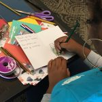 Students thank local veterans by writing thank-you cards
