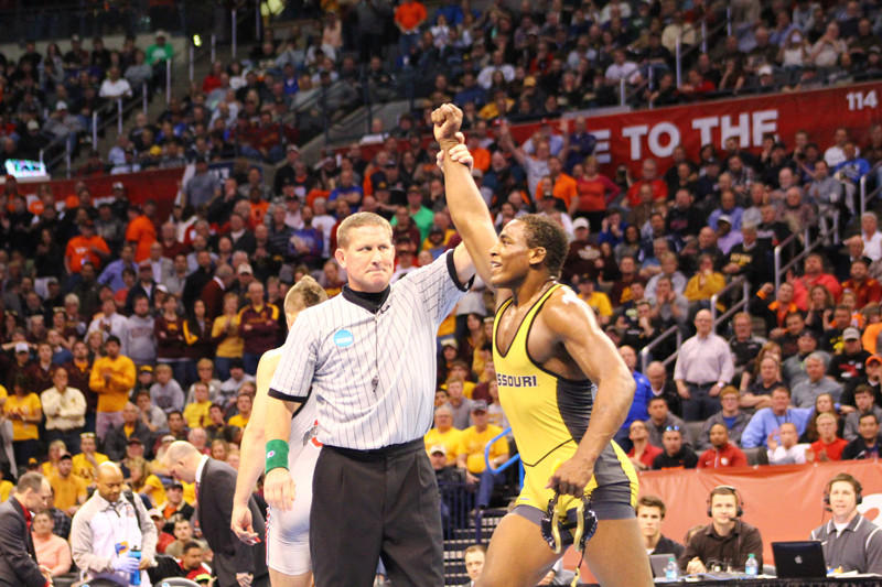 J'den Cox shines as Mizzou places fifth at Nationals