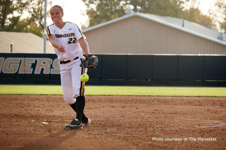 Mizzou softball upends No. 7 Auburn