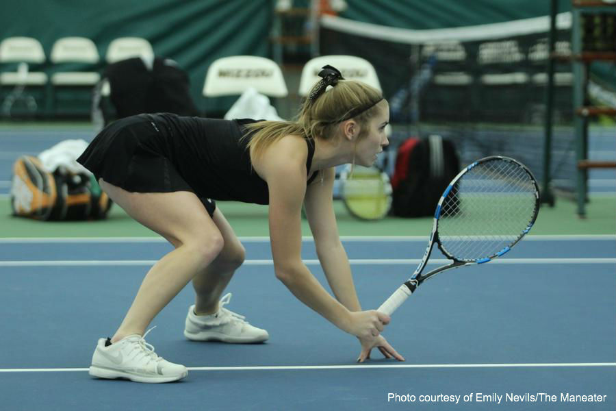 Mizzou tennis loses a close one to Tennessee