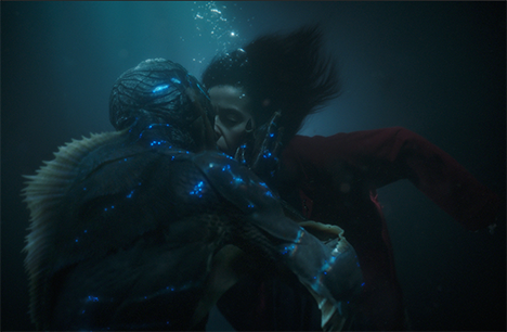 """Official image from """"The Shape of Water"""""""