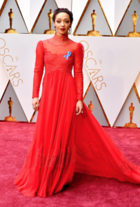 Ruth Negga at the 2017 Oscars