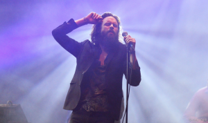 Father John Misty, or Josh Tillman, is the former drummer of the folk band Fleet Foxes.