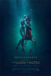 """The Shape of Water"" poster"