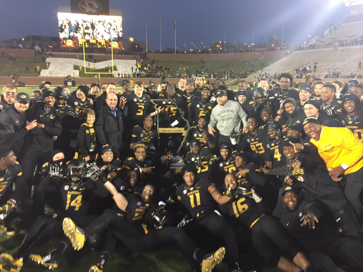 Missouri completes largest second half comeback in 78 years, beats Arkansas