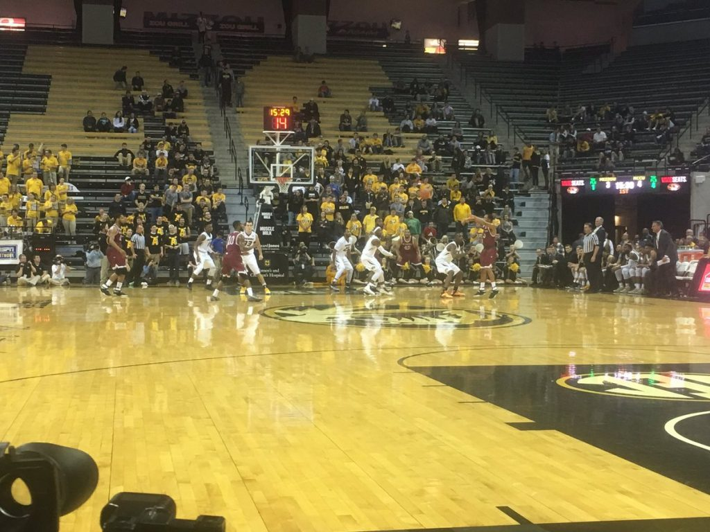 Mizzou men's basketball misses the mark against NC Central