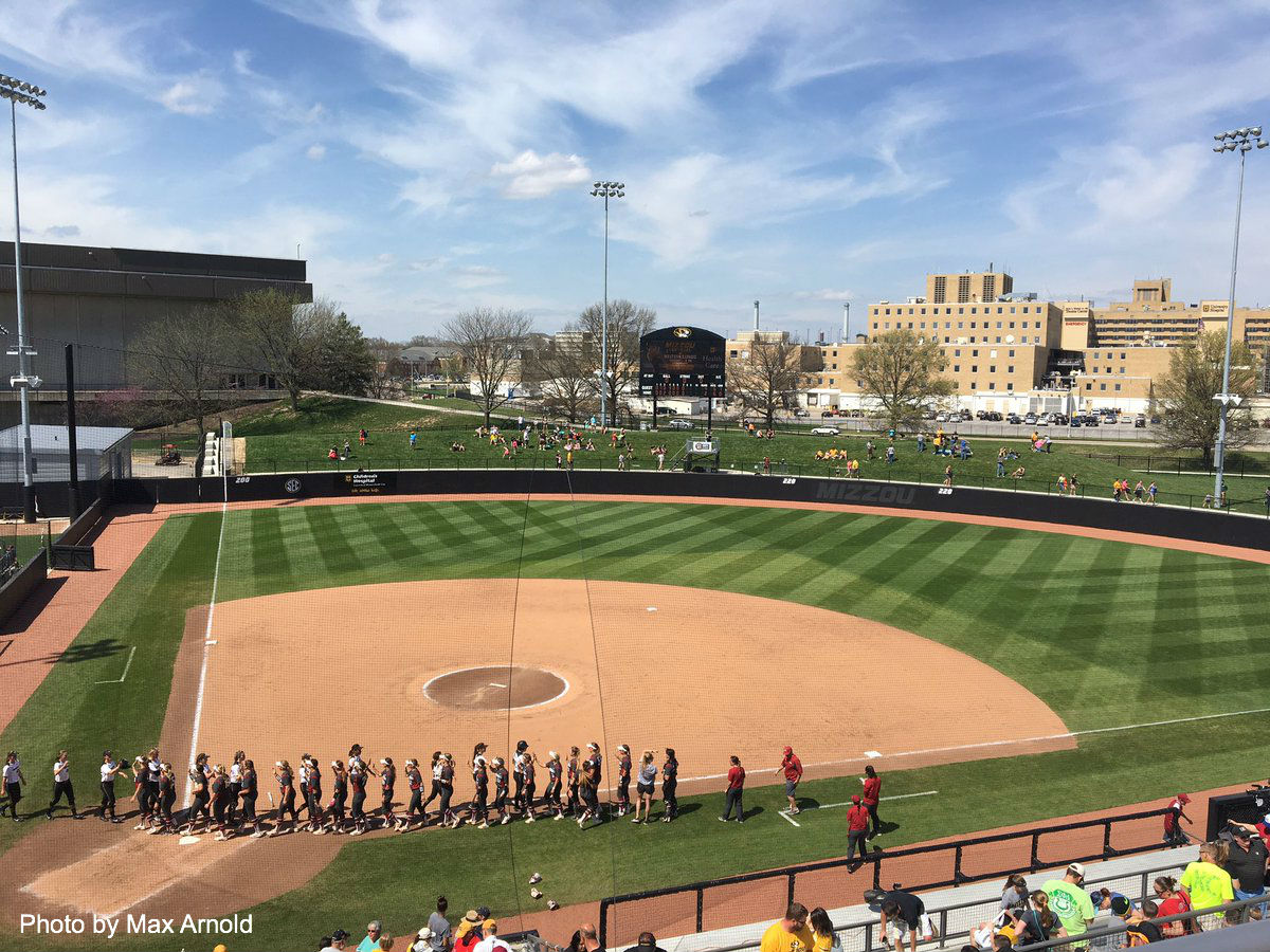 Mizzou softball drops rubber match 4-2 to Arkansas