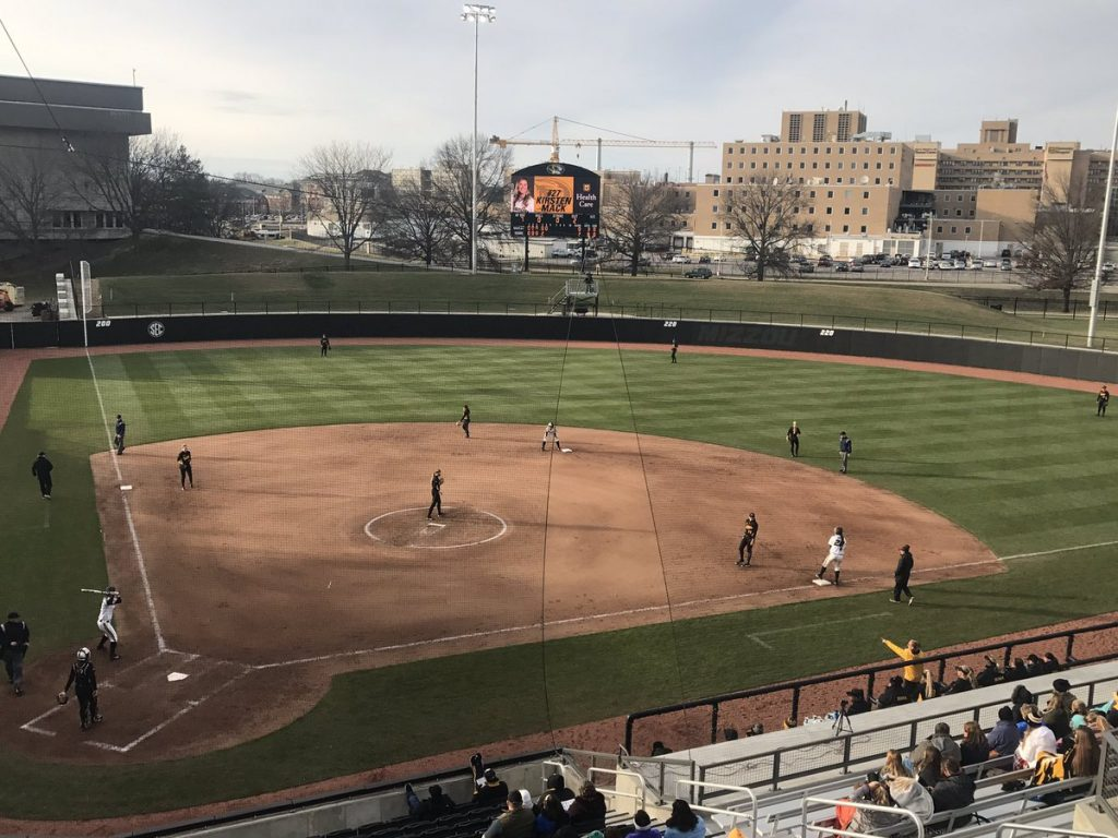 Mizzou softball records two shutouts over Iowa
