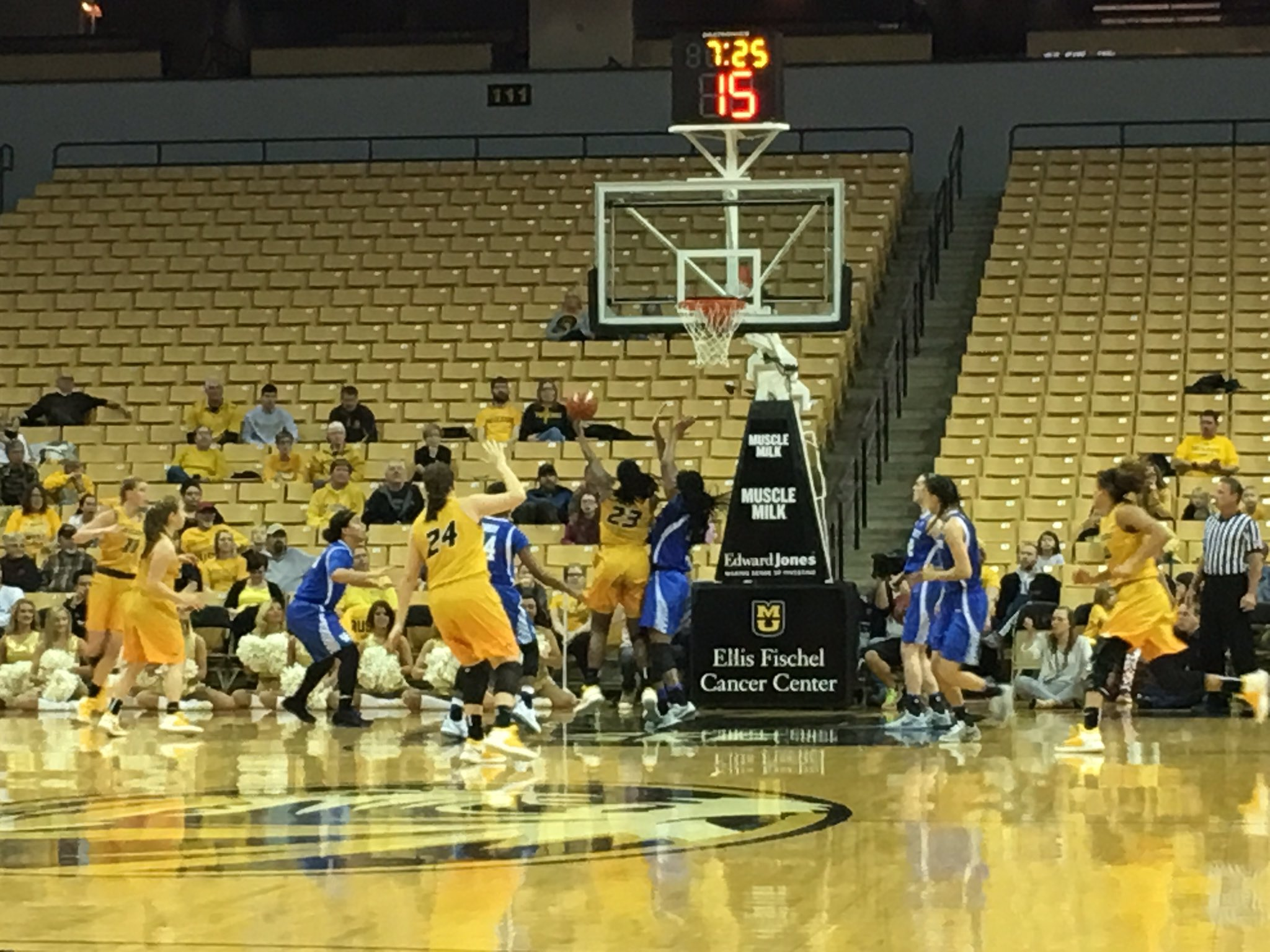 Team effort results in big victory for Mizzou women's basketball