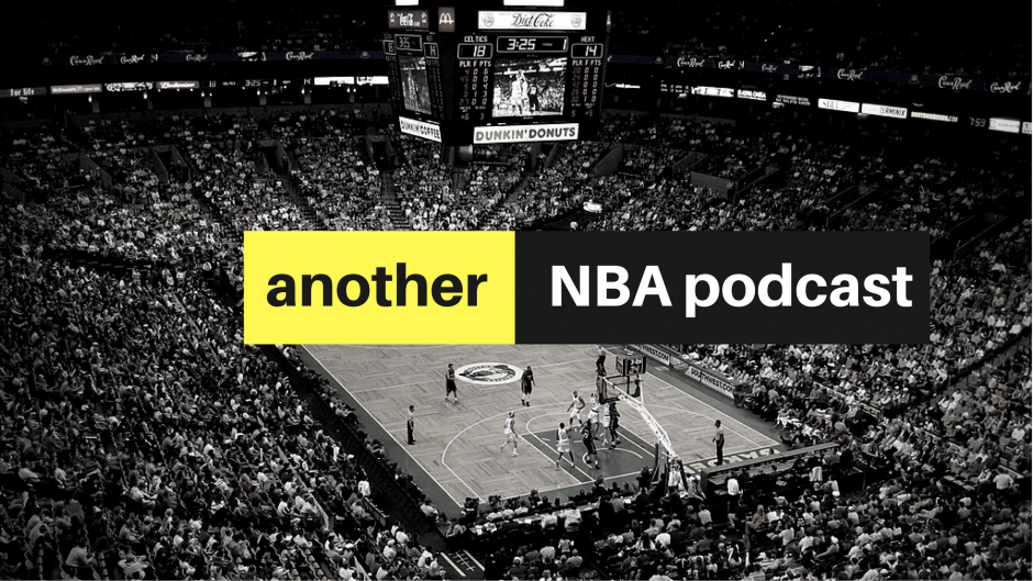 another NBA podcast graphic