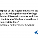 Audit Shows Loophole Allows Universities to Raise Money through Supplemental Fees