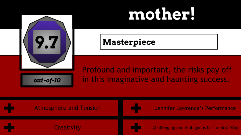 """9.7/10 """"Masterpiece"""". Profound and important, the risks pay off in this imaginative and haunting success."""