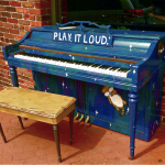 Street Pianos Encourage Passerby to 'Play It Loud'